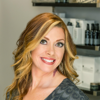 tina teel, hair and makeup artist